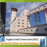 고층 강철 구조물 건물