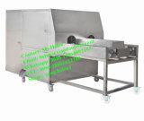 高性能の自動タマネギの皮および分根機械タマネギの処理機械