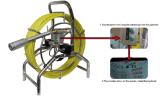 Camera van de Inspectie van de Rioolbuis van kabeltelevisie De Video met Digitale Teller