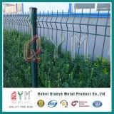 Hot-DIP гальванизированная орнаментальная двойная загородка сваренной сетки петли