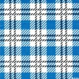 صنع وفقا لطلب الزّبون بالجملة زرقاء تدقيق قطنيّ مخطّط يطبع [ببر نبكين] [33إكس33كم]