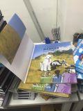 ハードカバー、薄紙表紙の予約の印刷、多彩な印刷、ハードカバーの箱