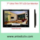 Moniteur LCD TFT de 7 pouces pour système de sécurité CCTV pour véhicule automobile