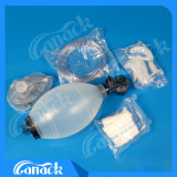 Masque réutilisable de soupape de sac de silicones avec l'OIN de la CE