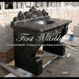 Lavabo di Nero Dorato per la decorazione domestica Mbm-1086