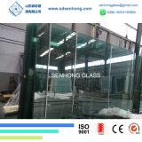 6+0.38+5mm claro vidrio laminado para puertas y ventanas