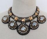 De nieuwe Juwelen van de Halsband van de Nauwsluitende halsketting van het Kostuum van het Kristal van de Charme van de Manier Ruige (JE0150)