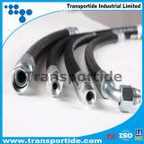 R12 4sp de Hydraulische RubberSlang Aswsembly van de Hoge druk SAE100 voor Industrie van de Olie