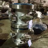 Dampf-Umhüllungen-Isolierungs-Kugelventil mit Begrenzungsschalter
