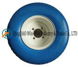Твердое колесо PU с цветом спицы и оправой (18*8.50-8)