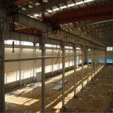Portalrahmen-Zelle-Metallindustrielle Stahlgebäude mit Kran