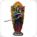 Les statues religieuses de résine fabriquée à la main ont personnalisé (IO-ca054)