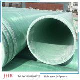 Tubo de plástico reforzado con fibra de GRP grandes de agua/GS/aceite/transporte de productos químicos