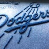 La gomma ha appoggiato i regali promozionali di Promot della squadra di sport che fanno pubblicità alle stuoie esterne dell'interno del pavimento del portello di stampa del Dodgers degli omaggi di evento/di sublimazione tintura della stampa