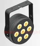 Nieuwe Mini 12PCS 4in1/5in1/6in1 RGBWA LED PAR Flat