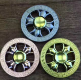 El nuevo diseño de la buena calidad aleó a hilandero de cobre amarillo de la persona agitada del metal
