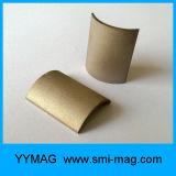 Custom-Made SmCo ímanes arco côncavo