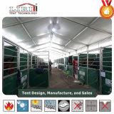 20m Weiß Belüftung-wasserdichtes Zelt für Pferden-Reitim freienereignisse