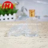 100ml cancelam o frasco bebendo do licor de vidro com tampão do ouro