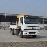 Sinotruk 4X2 LKW eingehangener gerader Arm-Kran von 3 Tonnen