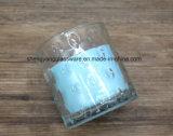 Copo de vidro do ofício de vidro quente dos suportes de vela do Sell para a mobília da cozinha