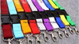 La moda el cordón tejido con logotipo personalizado