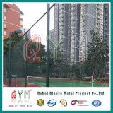 Frontière de sécurité décorative enduite de maillon de chaîne de /PVC de chaîne de frontière de sécurité amovible de maillon