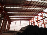 Viga de acero del bajo costo usada en almacén de la estructura de acero