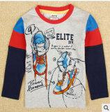 100% coton enfants rendent non doublés Partie superieure de vêtements pour enfants édition Han garçon T-Shirt