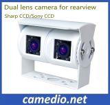 Двойная камера вид сзади тележки объектива для тележки трейлера, шины, каравана