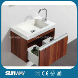 Module de salle de bains chaud de mélamine de vente avec le Module de miroir