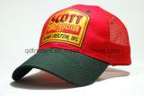 Broyage à la main doublée à la main à la broderie Applique broderie sport casquette camionneur (TRT023)