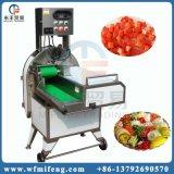 さいの目に切る機械をスライスする野菜およびフルーツの切断