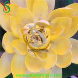 Beleuchtetes dekoratives Lotos-Blumen-Innenlicht