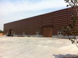 鉄骨構造のウルグアイのプレハブの倉庫(BYSS-555)
