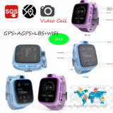 4G la montre de traqueur des gosses la plus neuve GPS avec l'appel visuel D48