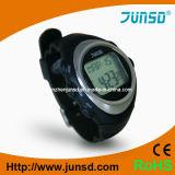 Relógio profissional do monitor da frequência cardíaca do sensor do dedo sem correia da caixa (JS-201)