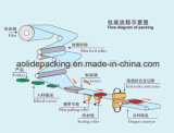 Máquina de embalagem para rolo de tecido fabricado na China
