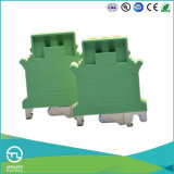 Utl Bodenverbinder der gelbgrüne Massen-Klemmenleiste-16mm2