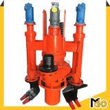 Pompe de boue submersible centrifuge avec coupe-dragage