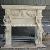 Camino di marmo antico naturale (SY-MF041)