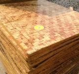 Plaque de brique en bois dur