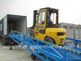 hydraulische Rampe des Dock-8t für Laden/aus dem Programm nehmen Waren