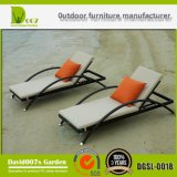 Novo jardim de design Rattan Outdoor Furniture Sun Lounger Chaise Lounge