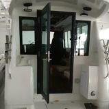 Barco de pesca de cabine de fibra de vidro modelo PFT de 32FT / 9,6m