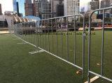 Barricade de contrôle de foule/barrière/frontière de sécurité galvanisées de contrôle de foule