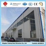 Einfach, Zwischenlage-Panel-vorfabriziertes Stahlrahmen-Zelle-Werkstatt-Zelt aufzubauen