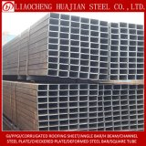 Materiali da costruzione usati tubo d'acciaio rettangolare laminato a caldo