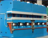 Neumático que retrocede el vulcanizador de la prensa hidráulica