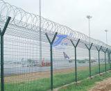 Y字型の機密保護防御空港塀